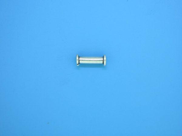 15221 - Bali Silver Tube Bead 4x11mm