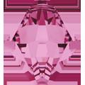 #6301 - 8mm Swarovski Top Hole Bicone Pendant- Rose