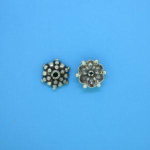 15270 - Bali Silver Bead Cap 3.5x9mm