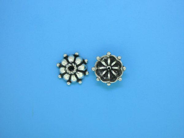 15271 - Bali Silver Bead Cap 3x9mm