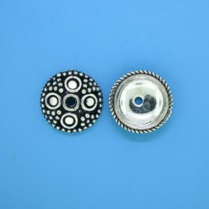 15278 - Bali Silver Bead Cap 4x14.5mm