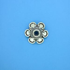 15279 - Bali Silver Bead Cap 5x16mm