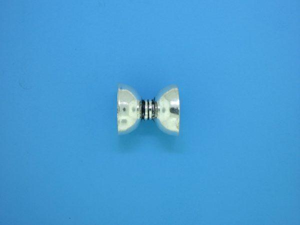 15280 - Bali Silver Bead Cap 11x13mm