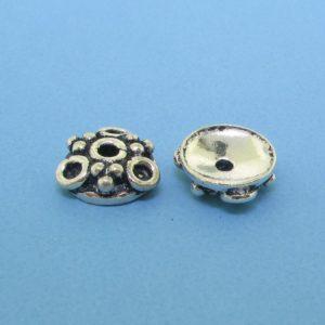 15265 - Bali Silver Bead Cap 3x9mm