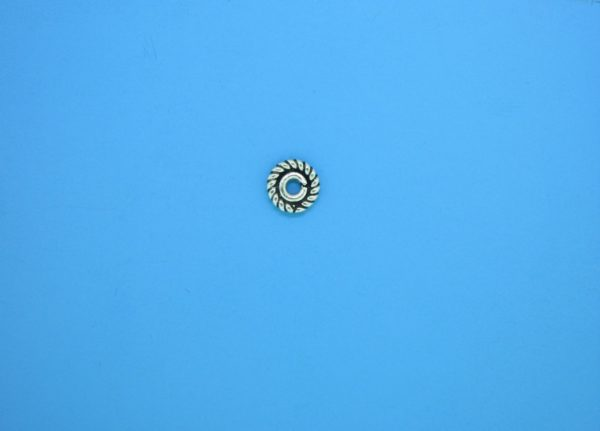15289 - Bali Silver Closed Jump Ring 6mm