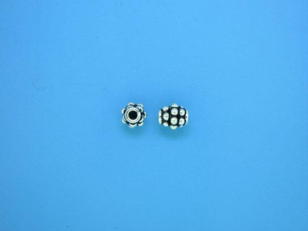 15296 - Bali Silver Bead 5.5x6mm