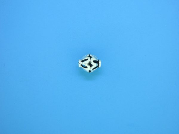 15299 - Bali Silver Bead 7x8mm
