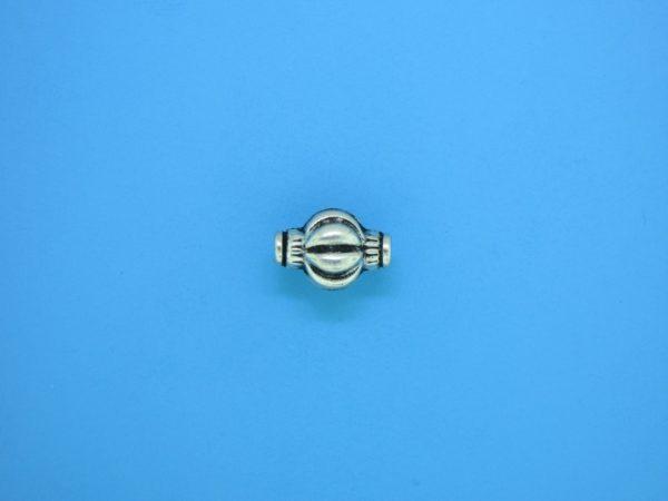 15306 - Bali Silver Bead 8x11mm