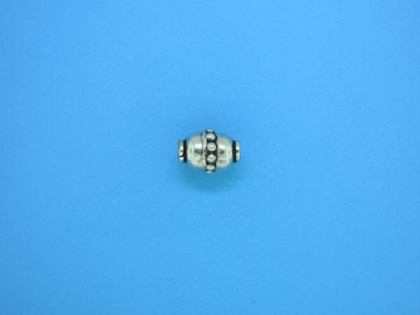 15308 - Bali Silver Bead 7x9mm