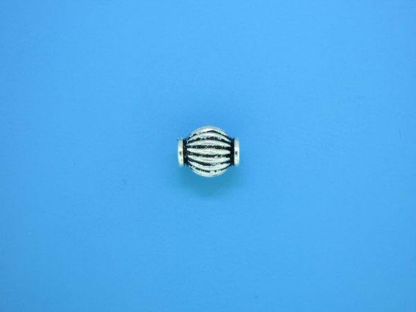 15310 - Bali Silver Bead 8x9.5mm