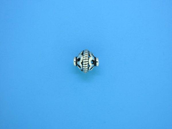 15318    - Bali Silver Bead 8x10mm