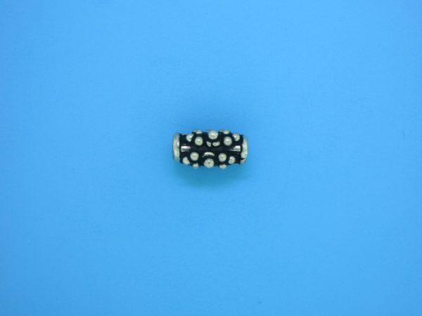 15319    - Bali Silver Bead 6x11mm