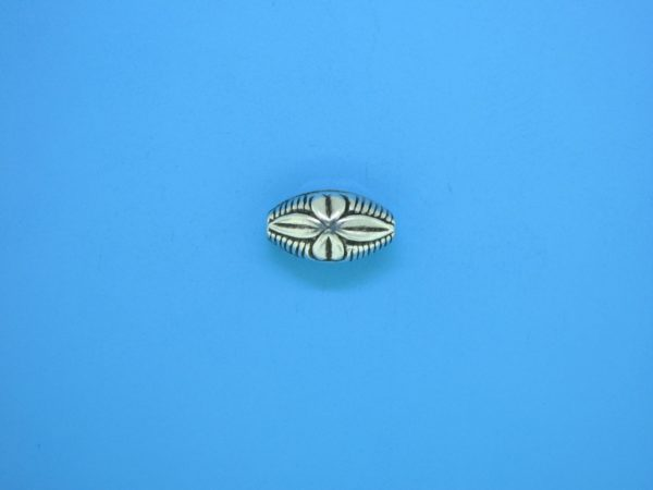 15321    - Bali Silver Bead 7x12.5mm