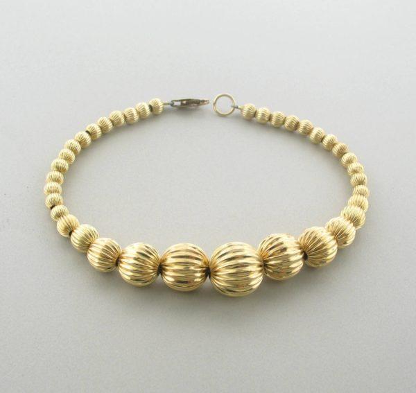 12047 - 14K Gold filled Bangle Bracelet