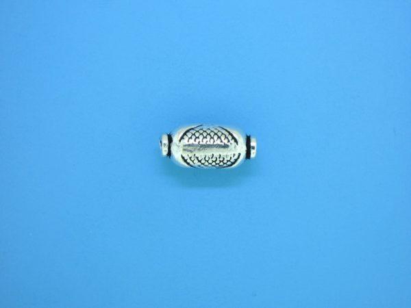 15330    - Bali Silver Bead 7x15mm