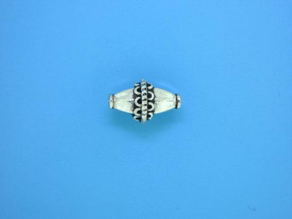 15332    - Bali Silver Bead 10x15mm