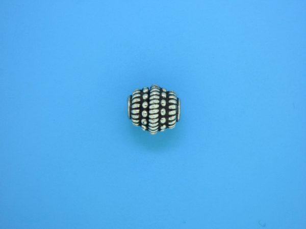15334    - Bali Silver Bead 11x11mm