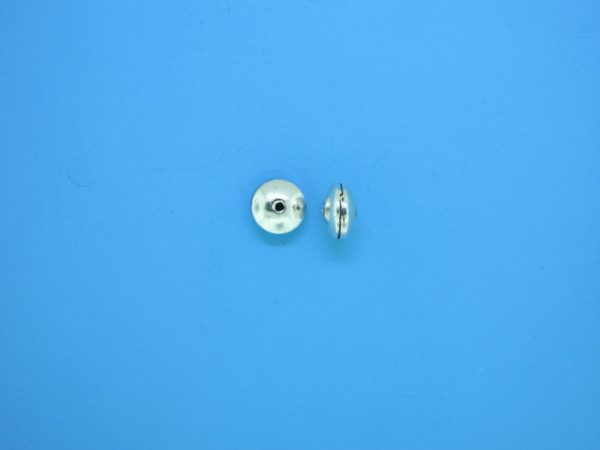 15338    - Bali Silver Bead 3.5x6mm