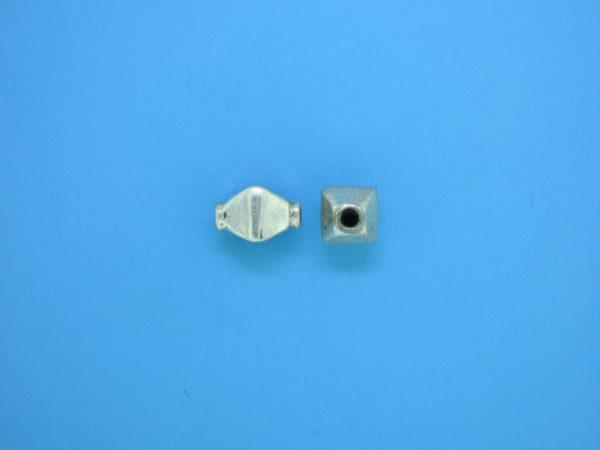 15340    - Bali Silver Bead 8x9mm