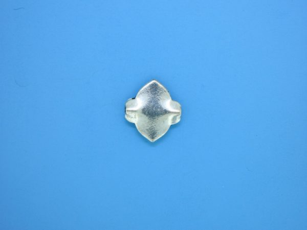 15344    - Bali Silver Bead 12x13mm
