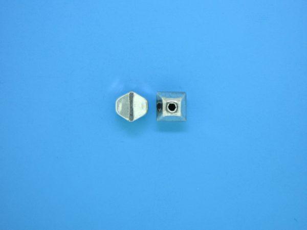 15346    - Bali Silver Bead 6x7mm