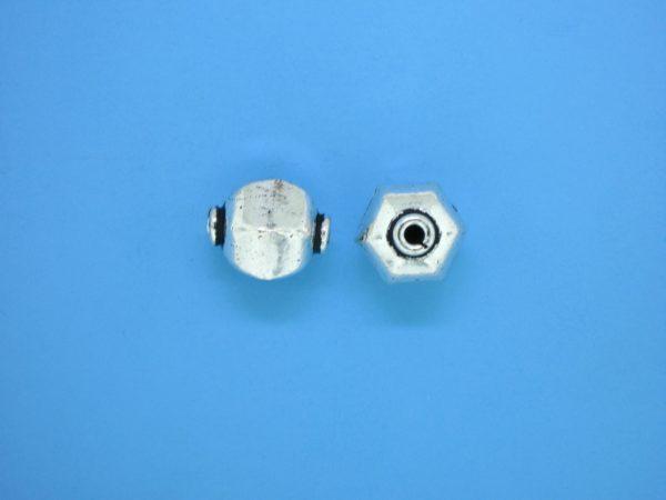 15349    - Bali Silver Bead 11x12mm