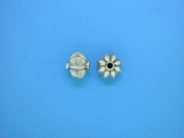 15350    - Bali Silver Bead 8x10mm