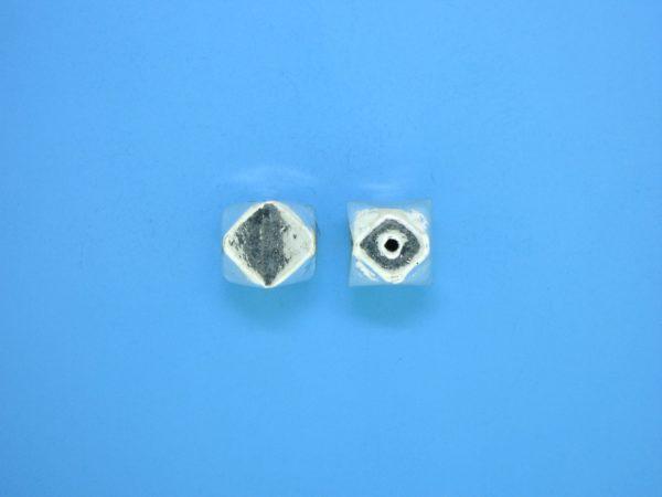 15352    - Bali Silver Bead 8.5x9mm