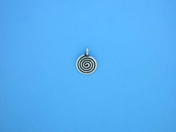 15367 - Bali Silver Charm 8mm