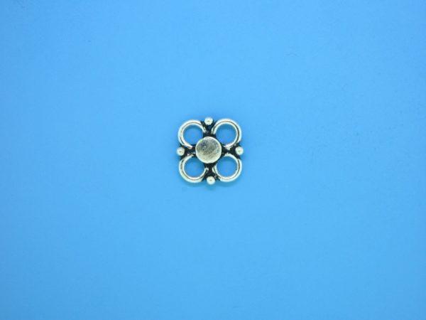15371 - Bali Silver Connector 12mm