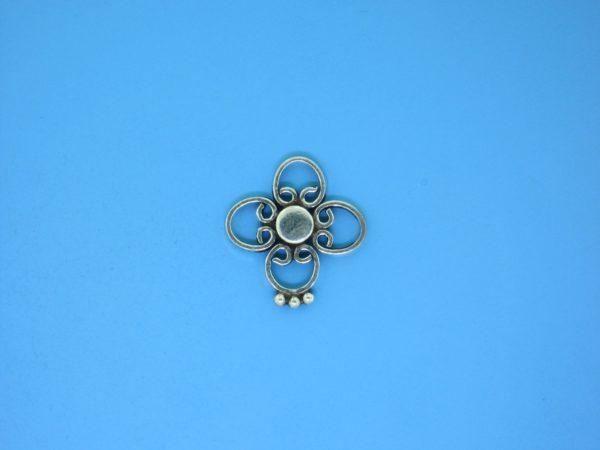 15373 - Bali Silver Connector 15mm