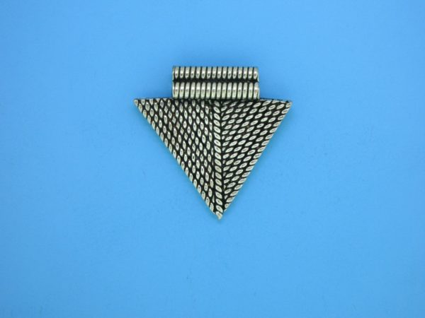 15378 - Bali Silver Charm 24x26mm