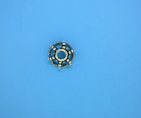 15397 - Bali Silver Bead Cap 11mm