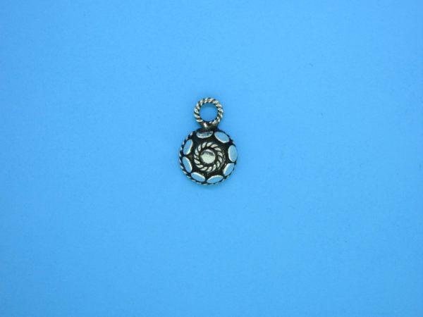 15401 - Bali Silver Charm 9x13mm