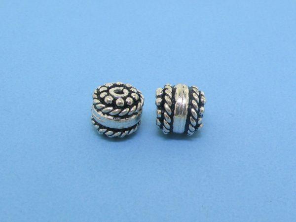 15405 - Bali Silver Bead 6.5x7mm