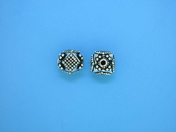 15415 - Bali Silver Bead 9x9.5mm