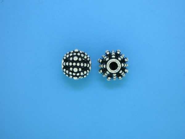15420 - Bali Silver Bead 9x10mm