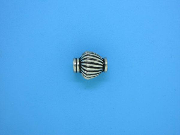 15423 - Bali Silver Bead 10x14mm