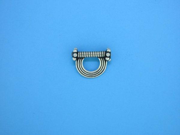 15433 - Bali Silver Charm 10x15mm