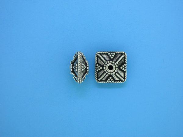 15436 - Bali Silver Bead 7x11mm