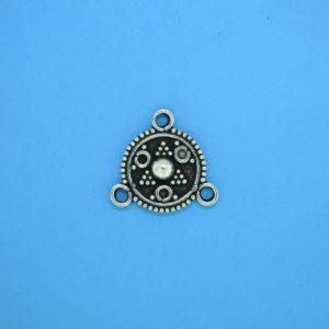 15438 - Bali Silver Chandelier 15x15mm