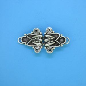 15448 - Bali Silver Clasp 14x35mm
