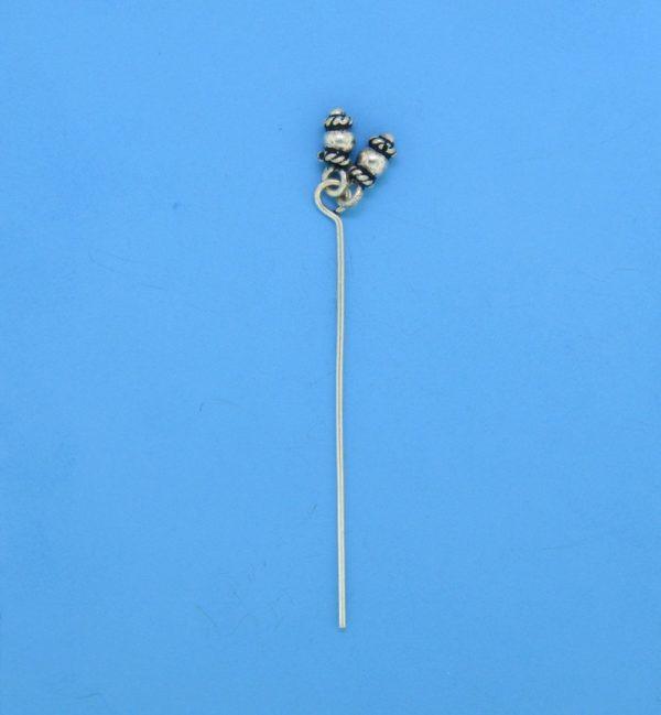 15457 - Bali Silver Eyepin 44mm