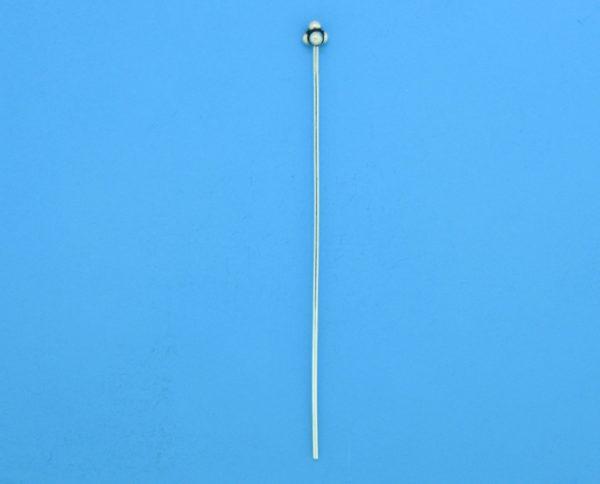 15590 - Bali Silver Ball Headpin 55mm