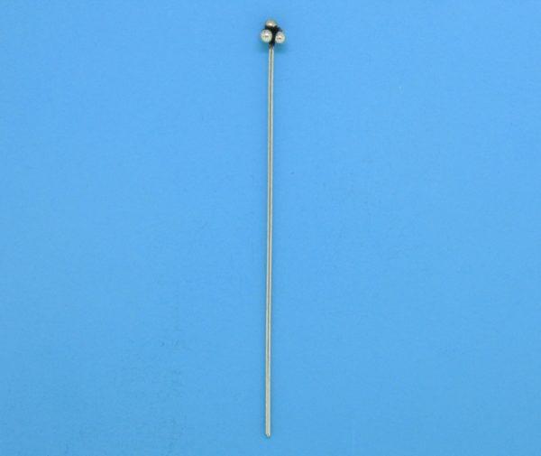 15591 - Bali Silver Ball Headpin 52mm