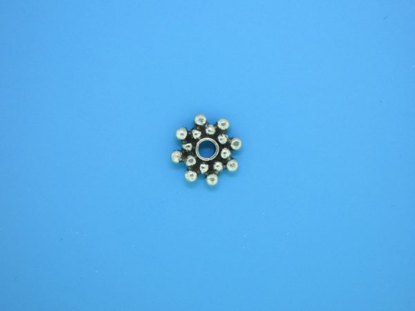 15515 - Bali Silver Daisy Spacer 2x11mm