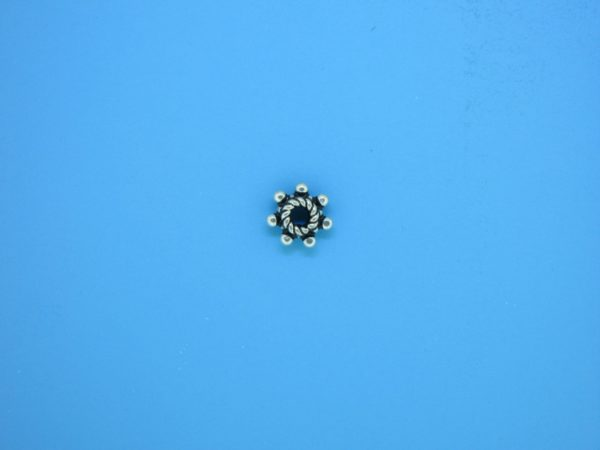 15523 - Bali Silver Spacer Bead 3.5x7mm