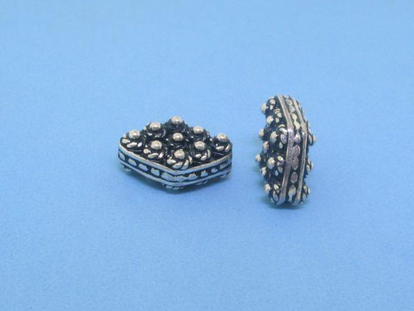 15435 - Bali Silver Bead 6x14mm