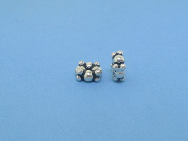 15510 - Bali Silver Spacer Bead 2.5x5mm