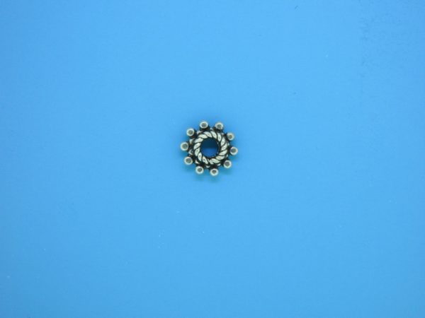 15525 - Bali Silver Spacer Bead 3.2x8.3mm